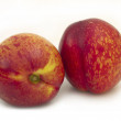 Two peaches isolated — Stock Photo #11288207