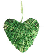 Green heart — Foto de Stock