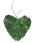 πράσινη καρδιά — Φωτογραφία Αρχείου
