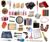 Huge collection of various object — Stock Photo