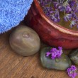Spa arrangement with lavender — Stock Photo #11290036