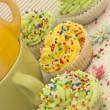 Colorful cupcakes — Stock Photo #11291641