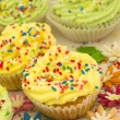 Colorful cupcakes — Stock Photo #11291661