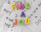 Arbeitslosigkeit-konzept — Stockfoto