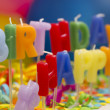 Birthday candles — Stock Photo #11302500