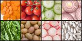 Sběr zeleniny — Stock fotografie