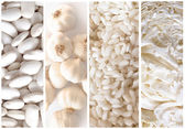 Collage of vegetables — Stock Photo