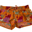 Foto Stock: Female summer shorts