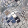 Disco dekoration bollen — Stockfoto