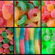 Candies with cristal sugar - Stock Photo