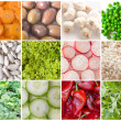 Stock Photo: Collection of vegetables
