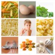 Royalty-Free Stock Photo: Collage of pasta