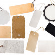 Collection of various tags — Stock Photo #11332026