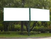 Prázdná billboard pro vaši reklamu — Stock fotografie