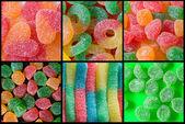 Kristal şeker şeker — Stok fotoğraf
