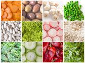 Raccolta di verdure — Foto Stock
