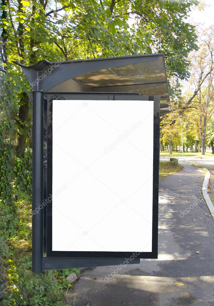 Empty place for your ad   Stock Photo #11330003