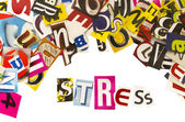 Stress koncept — Stockfoto