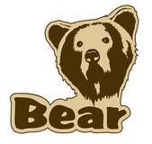 Bear icon — Stock Vector