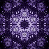 Mandala Purple Flower — Stock Photo