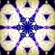 Mandala Blue snowflake — Stock Photo #11322879