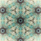 Fraktal mavi — Stok fotoğraf