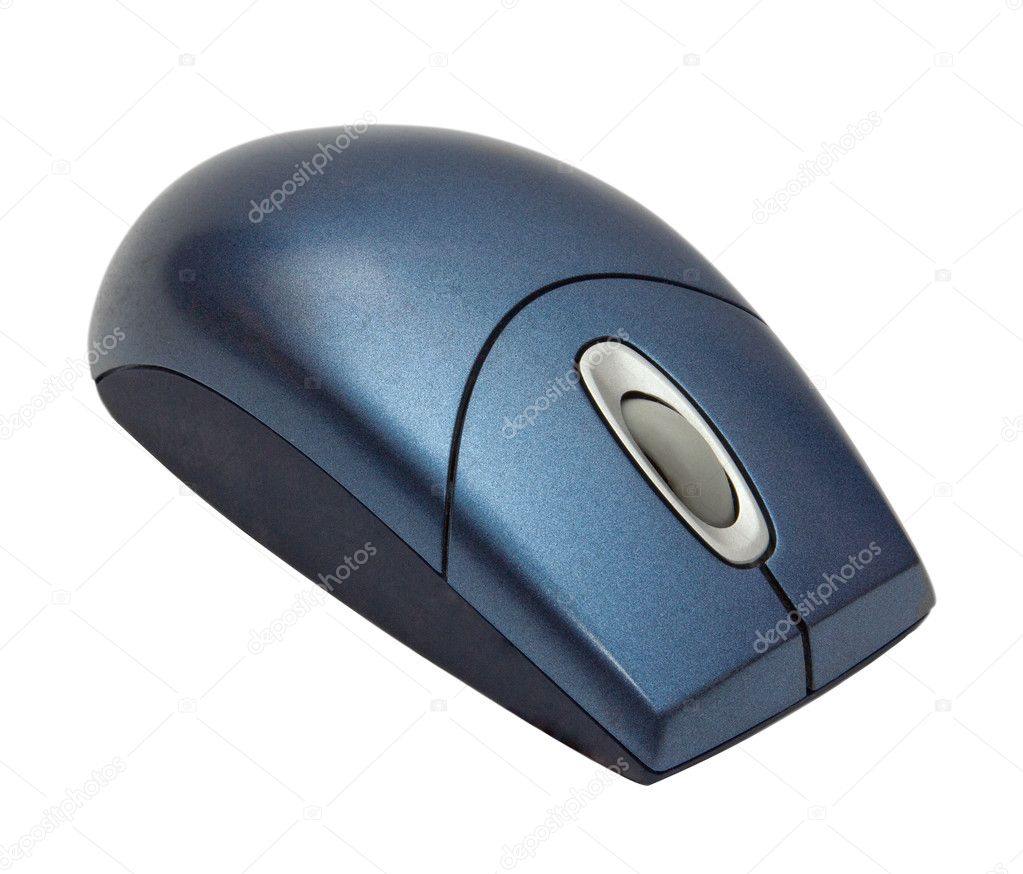 An isolated shot of a computer mouse  Stock Photo #11623242