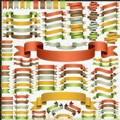 Conjunto de cintas de vectores — Vector de stock