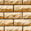 Inactivity ragged wall of bricks — Stock Photo #11565504