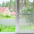 Stock Photo: View from window