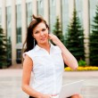Beautiful business woman — Stock Photo #11905090
