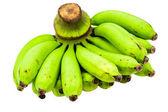 Zelené banány syrové parta. — Stock fotografie