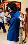 Bangkok - 26 agosto: una pose de cosplay anime japonés no identificado en japón festa en bangkok 2012 en agosto 26, 2012 en siam paragon, bangkok, tailandia. — Foto de Stock
