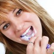 Brushing teeth — Stock Photo #11269189