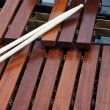 Mallets on marimba — Stock Photo #11383060