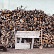 Stacked logs — Stock Photo #11400279