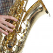 Saxophone player — Stock Photo #11446619