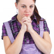 Young woman praying — Foto de Stock   #11446658