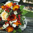 Colorful wedding bouquet — Stock Photo #11607115