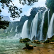 Stock Photo: Ban Gioc water fall, Cao Bang, Viet Nam