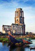 Church in Hai Ly, Hai Hau, Viet Nam — Stock Photo