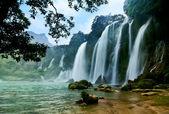 Ban Gioc water fall, Cao Bang, Viet Nam — Stock Photo