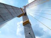 Mega sling Bridge,Rama 8 — Stock Photo