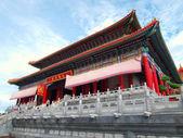 Leng-Noei-Yi Chinese temple 2 in Bangkok Thailand — Stock Photo