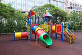 Playground in a city park — Stock Photo
