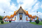Wat benjamaborphit, templo en bangkok, tailandia — Foto de Stock