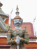 Thai style big giant statues — Stock Photo