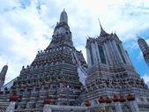 świątynia świtu lub wat arun w bangkok, tajlandia — Zdjęcie stockowe