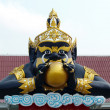 Stock Photo: Rahu statue at temple in Thailand