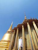 Złota pagoda w grand palace, Tajlandia bangkok — Zdjęcie stockowe